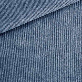 Feincord - Mittleres Jeansblau