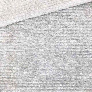 Kuschelrip Jersey - Hellgrau meliert