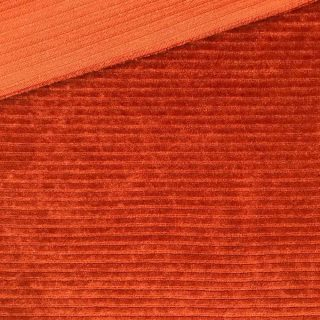 Kuschelrip Jersey - Rost-Orange