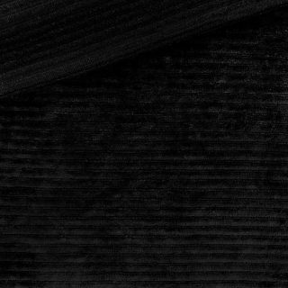 Kuschelrip Jersey - Schwarz