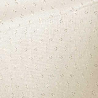 Pointoille Jersey - Cremeweiß
