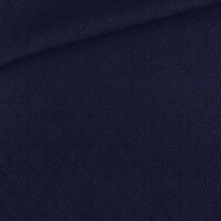 Pointoille Jersey- Navy Ink