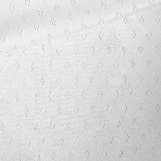 Pointoille Jersey - Weiß