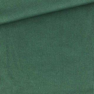 Rippenjersey - Tannengrün