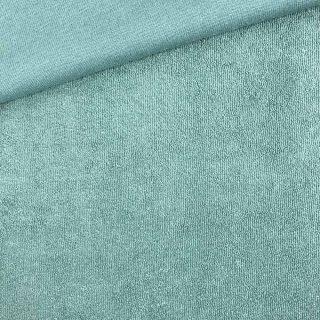 Frottee-Jersey - Altmintgrün