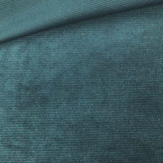 Mini-Mini-Kuschelrip Jersey - Dunkles Jadegrün