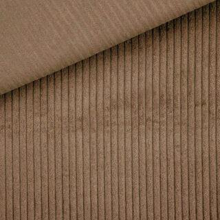Breitcord elastisch - Dunkles Camel Beige