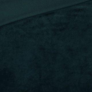 Velvet-Jersey - Dunkles Tannengrün