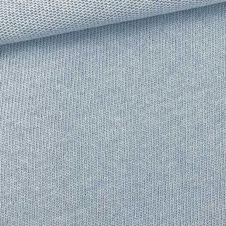 Baumwoll-Feinstrickstoff - Helles Jeansblau
