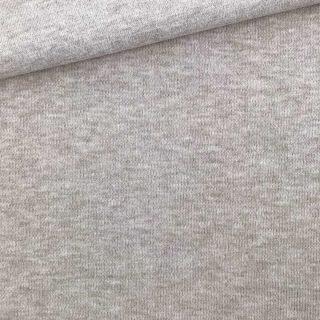 Interlock Jersey - Helles Smoky Beige meliert - Organic Cotton