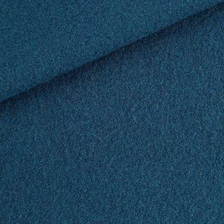 Walk - Wollstoff - Petrol-Jeansblau