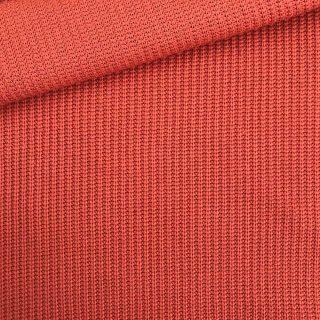 Baumwoll-Grobstrickstoff - Rost Orange