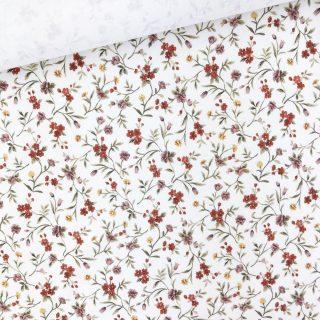 Single Jersey - Blossom Cremeweiß
