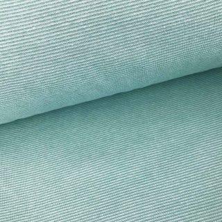 Bündchen - Altmintgrün 1 mm gestreift