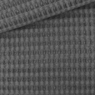 XL Waffelpique - Dunkelgrau