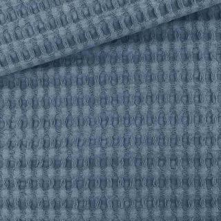 XL Waffelpique - Dunkles Jeansblau