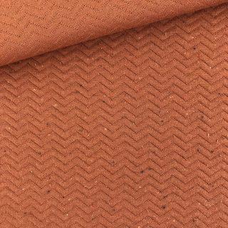 Chevron Stepp-Jersey - Rost Orange
