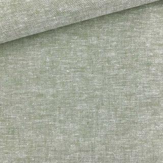 Leinen-Baumwollgemisch - Melange Helle Olive
