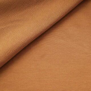 French Terry - dünner Sweatshirtstoff - Kupfer