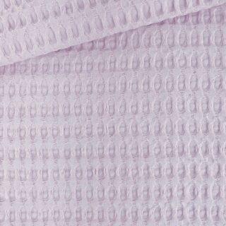 XL Waffelpique - Helles Flieder-Altrosa