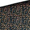 Elastische Baumwolle - Leo Kupfer/Dunkelblau