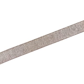 Gummiband Beige-Rose Silber - 20 mm