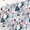 Single Jersey - Blütenwunder Weißgrau meliert