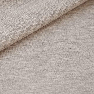 French Terry - Smoky Beige meliert