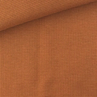 Waffel Jersey - Kupfer