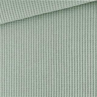 Soft Waffel Jersey - Dusty Green